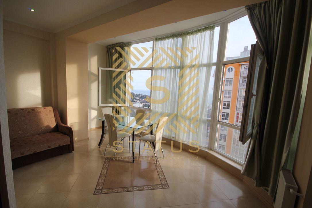 Продажа двухкомнатной квартиры в Ялте, ЖК Дарсан-Палас